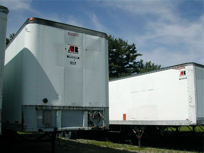 Dock Height Box Trailer Rentals in ME, NH & MA