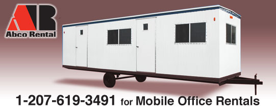 Mobile Office Rentals in Portland ME