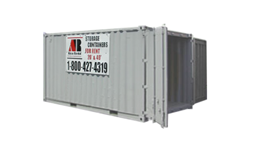 20 Portable Storage : Ft storage container rental
