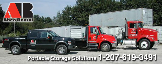 Storage Container Rental Portland ME